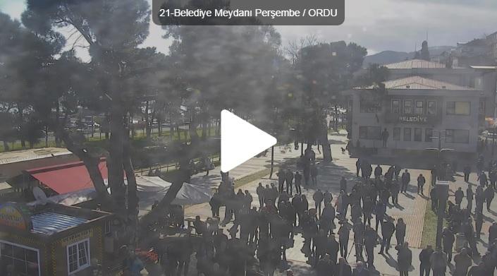 Ordu Peşembe Belediye Meydanı